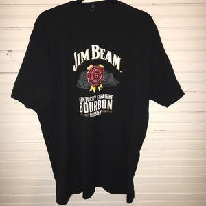 Other - JIM BEAM WHISKEY XXL BLACK GRAPHIC T-SHIRT IN EUC
